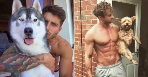 The Unity of Our Favorite Things on Instagram – Hot Hunks with Dogs
