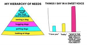 7 Hilariously Accurate Charts You'll Only Understand If You're Dating a Doggo Person