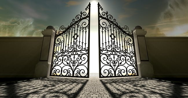 The Pearly Gates, Entrance to Heaven!