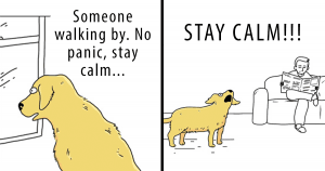 10+ Comic Strips About The Cat VS Dog Debate That'll Make You Laugh Like Crazy