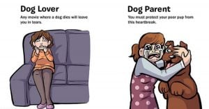 These Comics Explain Perfectly The 7 Things That Separate A Doggo Lover From A Doggo Parent