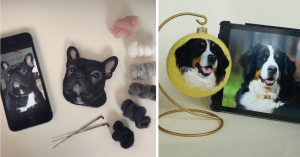 This Artist Creates 3-D Felt Portraits Of Dogs And It's So Realistic That It Will Make You Howl